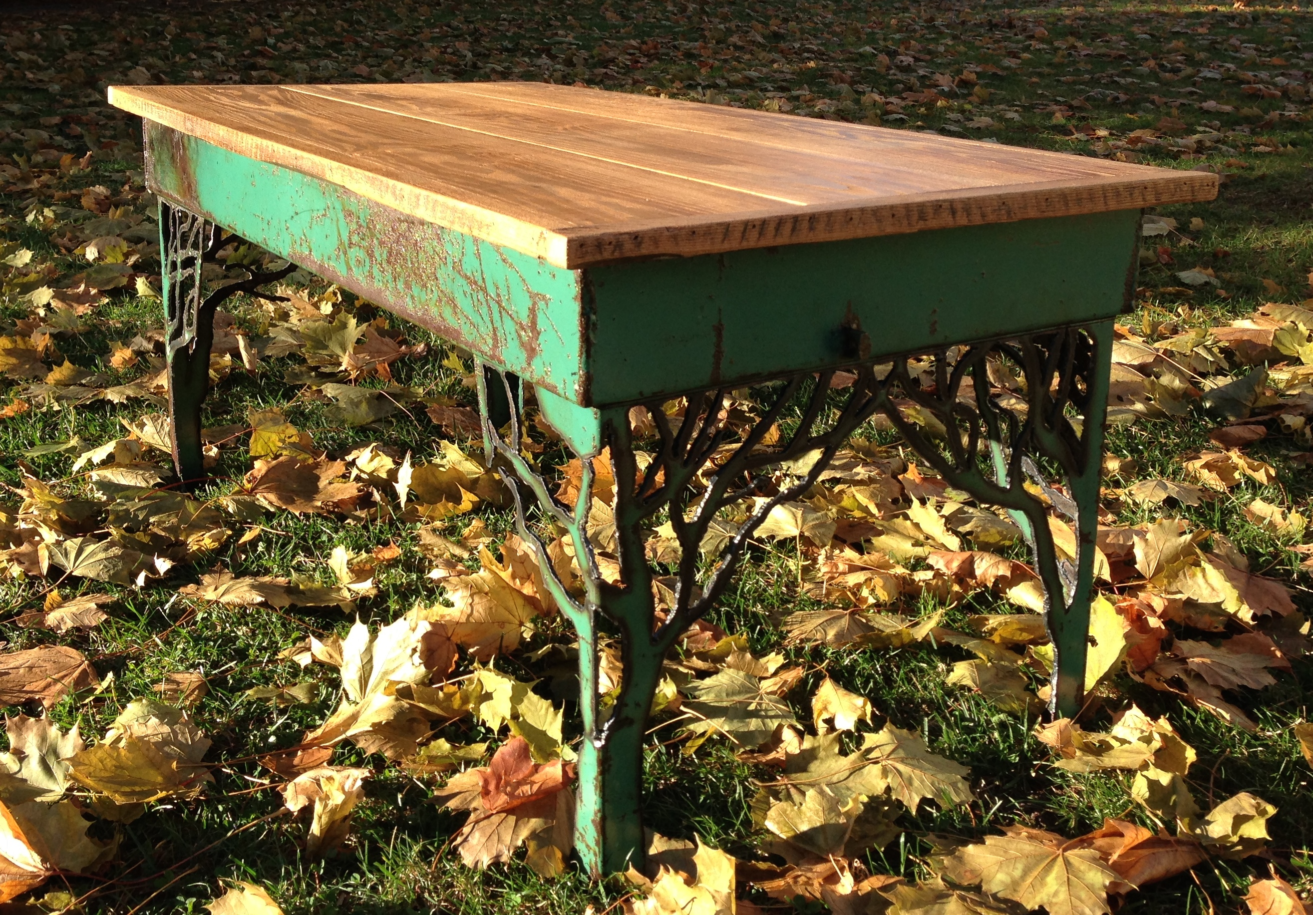 """Four Trees"" Coffee Table – SOLD"
